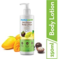 Mamaearth Skin Repair Natural Winter Body Lotion with Mango & Kokum butter for Women & Men with Extra Dry Skin