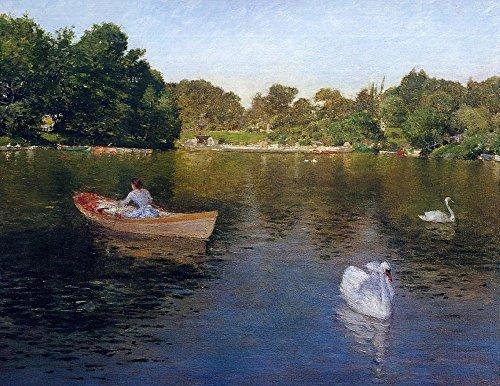 Das Museum Outlet-auf der See, Central Park, 1890-Poster Print Online kaufen (101,6x 127cm) -