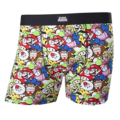 Nintendo Boxershorts -S- all over print Super Mario Boxer