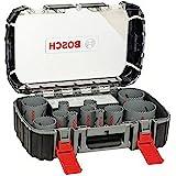 Bosch Professional 17 st. HSS Bi-metal Hole Saw Set (för olika material, Ø 20–76mm, tillbehör för skruvdragare)
