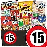 15. Jubiläum | DDR Süßigkeiten Set | Geschenk zum 15. Hochzeitstag für Mann