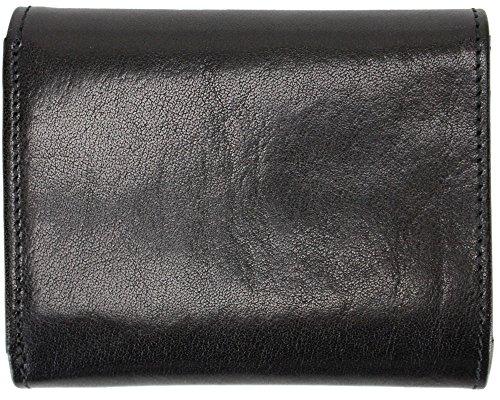 Golden Head Colorado Wiener-Schachtel II portafoglio 8,5 cm pelle nero tabak, braun
