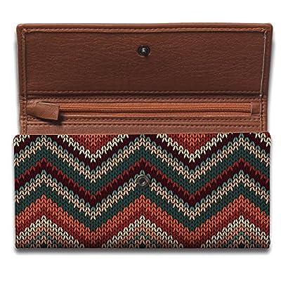 Shopmantra Multicolor Canvas With Leather Women's Wallet