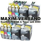 10 XL MAXIMPRINT Drucker-Patronen Set als Ersatz für Brother LC-3217 XL & LC-3219 XL Multipack mit Chips und Füllstandsanzeige kompatibel zu Brother MFC-J 5330 DW / MFC-J 5330 DW XL / MFC-J 5335 DW / MFC-J 5730 DW / MFC-J 5830 DW / MFC-J 5930 DW / MFC-J 6530 DW / MFC-J 6535 DW / MFC-J 6535 DW XL / MFC-J 6730 DW / MFC-J 6930 DW / MFC-J 6935 DW Patronen mit Tinte / Tintenpatronen