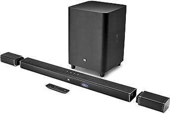 JBL 5.1 Channel 4K Ultra HD Sound bar with True Wireless Surround Speakers (Black)
