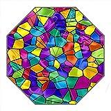 Kundenspezifischer faltbarer Umbrella Diy personifizierter Buntes Puzzle Entwurfs-beweglicher Reise-Regenschirm f¨¹r Sonne und Regen