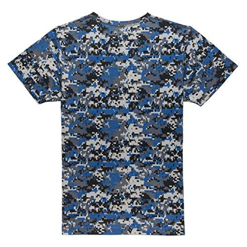 CHABOS IIVII Uomo Maglieria / T-shirt Camo Blue Camo
