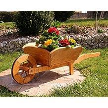 Carretilla de madera para jardin for Carretillas de madera para jardin