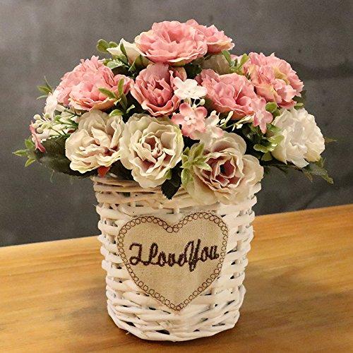 Die Simulation Von Kunststoff Blumen Blumen Blumen Garten Suite Wohnzimmer  Dekoration Wohnungseinrichtung Silk Flower Lily Blumenstrauß