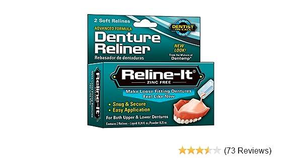Doc reline it advanced denture reliner 2 repairs amazon doc reline it advanced denture reliner 2 repairs amazon health personal care solutioingenieria Image collections
