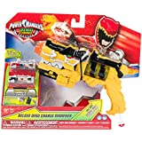 Power Rangers Dino Charge - Juguete Morpher DX con luces, color amarillo (Bandai R42000)
