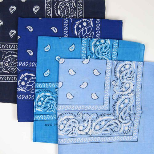 turquoise-blue-cotton-bandana-scarf-square-white-paisley