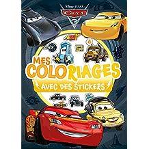 Cars 3, MES COLORIAGES AVEC STICKERS