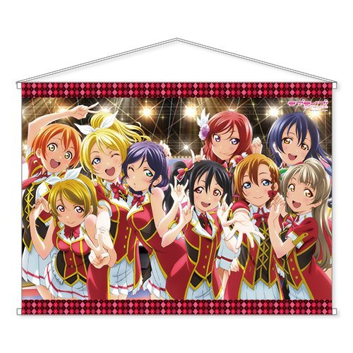 Love Live! School idol project B1 tapestry 's From Japan New by AMW