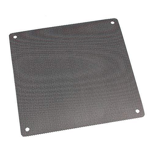 RanDal Pvc Black Pc Cooler Fan Dust Collector Filter Dustproof Case Cover Computer Mesh Austauschbar (Computer-ventilator-mesh)