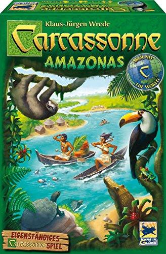 Schmidt Spiele Hans im Glück 48261 Carcassonne, Amazonas, Spiel und Puzzle