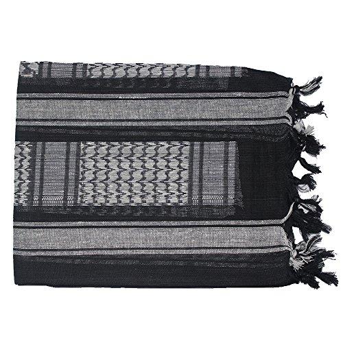 Swift Wears - Echarpe - Homme noir et blanc