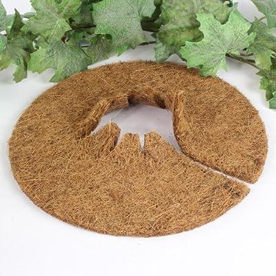 Kokos Mulchscheibe Winterschutz Pflanzenschutz Abdeckscheibe Ø 25 cm, 10er Pack von Lucht auf Du und dein Garten