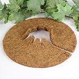 Kokos Mulchscheibe Winterschutz Pflanzenschutz Abdeckscheibe Ø 25 cm, 10er Pack