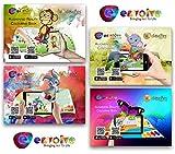 """Come funziona--------------------------------------scaricare l' app """"envolve dall' Apple Store o da Google Play Store.-Apri il libro, colore che si desidera attivare l' app funzione scansione della pagina del libretto. Colore e vederli ..."""