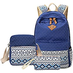 DMbaby DS18 Impermeable Mochilas Escolares Mujer Mochila Escolar Colegio Grande Bolsa Estilo Mochila Casual / Bolsa Viaje / Mochila Portátil Azul