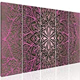 murando Bilder Mandala 200x80 cm - Vlies Leinwandbild - 5 Teilig - Kunstdruck - Modern - Wandbilder XXL - Wanddekoration - Design - Wand Bild - Abstrakt Kunst f-A-0491-b-p