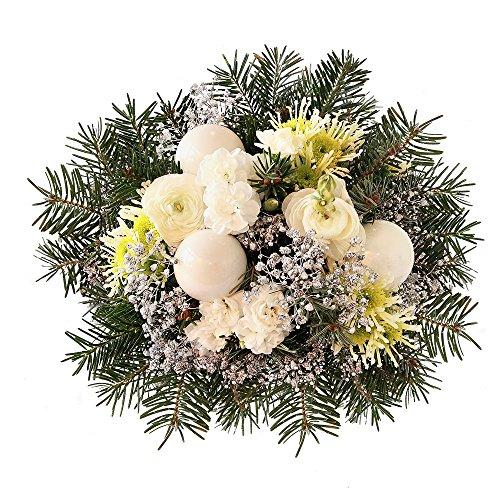 MIFLORA Blumenstrauß Snowflake | Entworfen von der Europameisterin