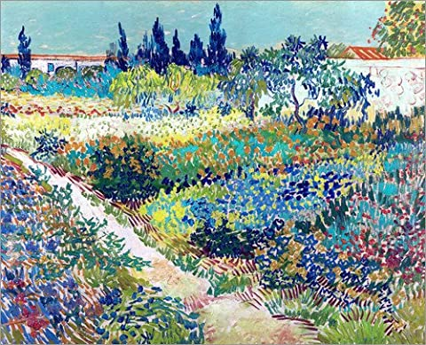 Toile Van Gogh - Reproduction sur toile 50 x 40 cm: