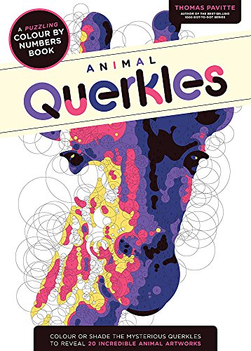 Animal Querkles: A puzzling colour-by-numbers book por Thomas Pavitte
