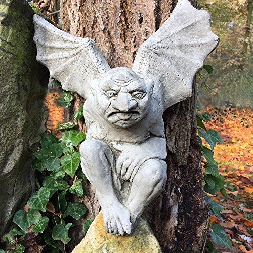 Gargoyle Dekoration (Antikas - Gargoyle Fledermaus – Monster aus Stein Kathedralen Figuren Wasserspeier)