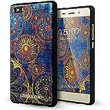 Huawei P8 Lite Cover,Lizimandu Creative 3D Schema UltraSlim TPU Copertura Della Cassa Del ...
