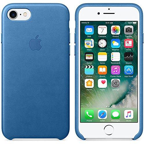 Apple MMY42ZM / A 7 iPhone mer bleue étui en cuir Sea Blue