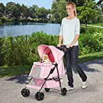 Guardian Gear Promenade Pet Stroller, Pink 10