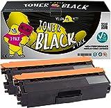 Yellow Yeti TN423BK TN-423 BK (6500 Seiten) 2 Schwarz Premium Toner kompatibel für Brother HL-L8260CDW HL-L8360CDW MFC-L8690CDW MFC-L8900CDW DCP-L8410CDW DCP-L8410CDN [3 Jahre Garantie]