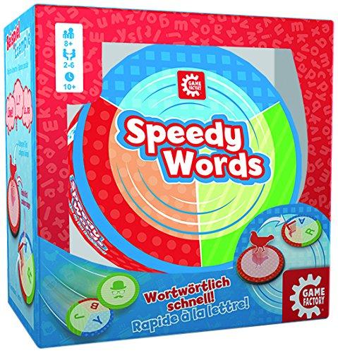GAMEFACTORY 76159 - Speedy Words, bunt (Kostenloser Versand Auf Der Zunge Ringe)