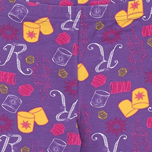 Princesas Disney - Pijama para niñas - Enredados Rapunzel - Ajust Ceñido