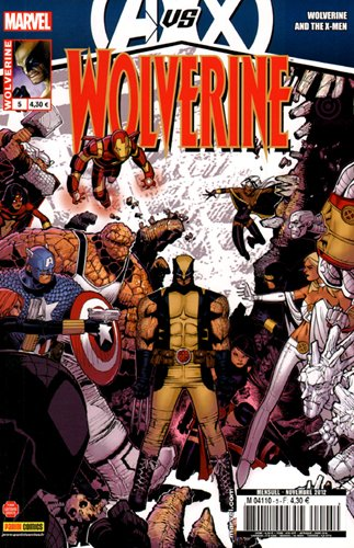 Wolverine 2012 005 Avengers VS X-Men