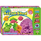 Ekta Active Sand Animals PlaySet For Kids 3+ Years/ Multicolor/ GiftPack Item