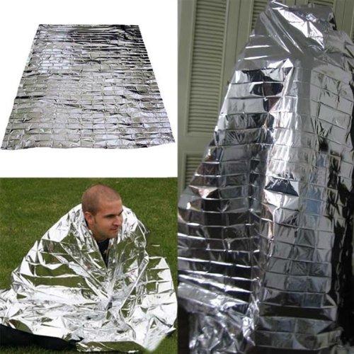 Big Bargain Mylar Waterproof Emergency Rescue Space Foil Thermal Blanket 83