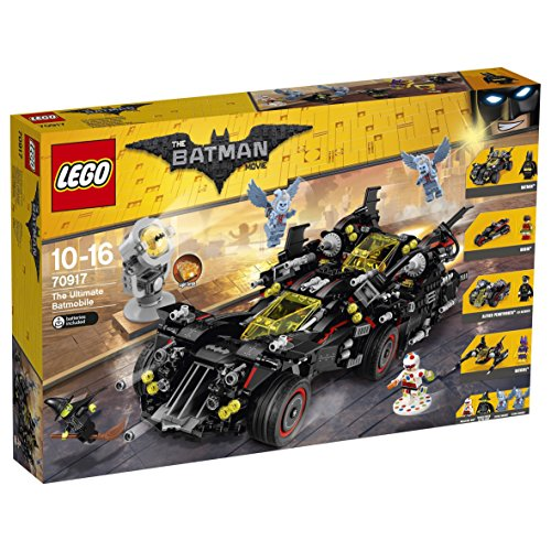 "DC Comics Lego UK 70917 ""The Ultimate Batmobile"" Construction Toy"