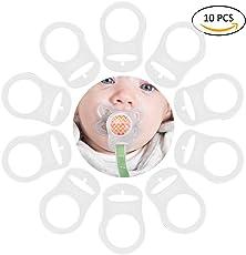 TankerStreet 10 Stück Silikonring Adapter Baby Ring Adapter für
