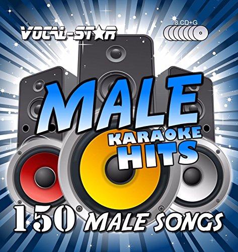 e Hits Karaoke Collection Männer CDG CD + G Disc Pack 8 Discs - 150 Lieder ()