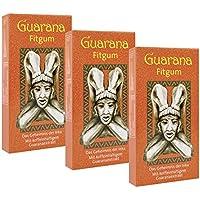 BADERs Guarana Fitgum aus der Apotheke. Kaugummi kauen für mehr Energie mit Guarana Koffein. Zuckerfrei, mit Xylit. Vorteilspackung 3 x 24 Gums. PZN: 08529013
