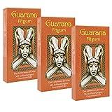 BADERs Guarana Fitgum aus der Apotheke. Kaugummi kauen für mehr Energie. 3 x 24 Gums