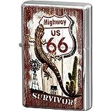 Nostalgic-Art-bilderpalette 80236 uS highways 66 survivor et briquet nerd