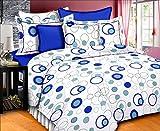 R R Textile House Cotton Blue Colored Po...