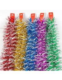 200 cm Célébration décdoréation coloré ruban, prix / 5 pièces, couleurs assorties