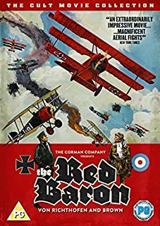 Von Richthofen and Brown (The Red Baron) [Non USA PAL Format] by John Phillip Law