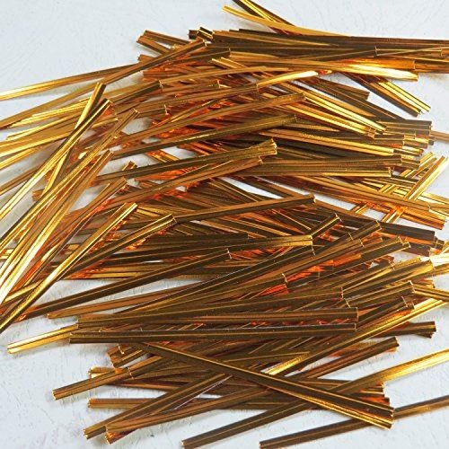 Kraftz ® Lot de 100 liens cellotwist en plastique coloré avec fil métallique, pour sachets , 10 cm