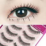 Generic Mix : Eyelashes Makeup Lashes Natural False Makeup Fake Eyelash Strip Cils Beauty Net s Lash Set S-12